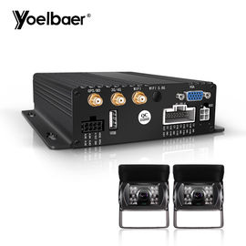 8 Channel Vehicle DVR Camera System Dengan AHD External Interior Camera