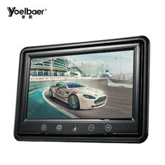 Layar Tampilan Video Mobil Desktop, VGA 9 Inch Tft Lcd Color Monitor PAL / NTSC